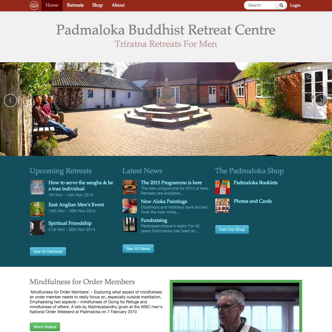 Padmaloka Retreat Centre