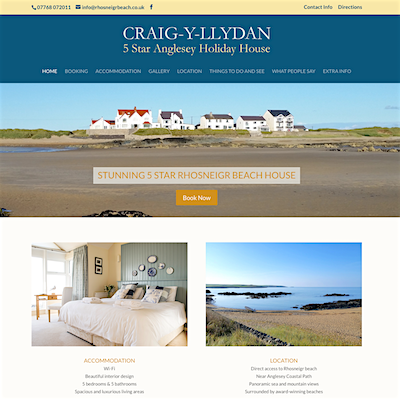 Rhosneigr Beach Holiday Accommodation